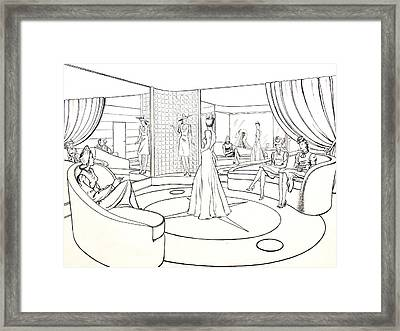 The Women Framed Print by Robert Poole