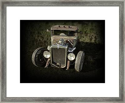 31 Chevy Rat Rod Framed Print by Thomas Young