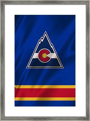Colorado Rockies Framed Print by Joe Hamilton