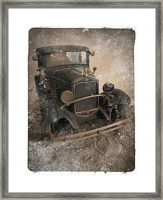 '31 Ford Diecast Truck Model Framed Print by Scott Kingery