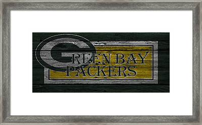 Green Bay Packers Framed Print