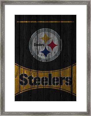 Pittsburgh Steelers Framed Print by Joe Hamilton