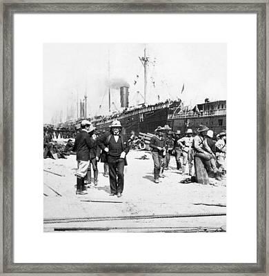 Spanish-american War, 1898 Framed Print by Granger
