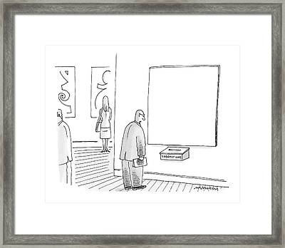 New Yorker March 26th, 2007 Framed Print
