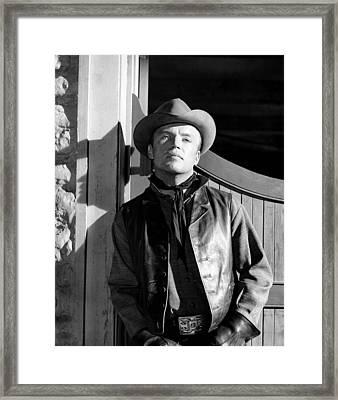 310 To Yuma, Richard Jaeckel, 1957 Framed Print