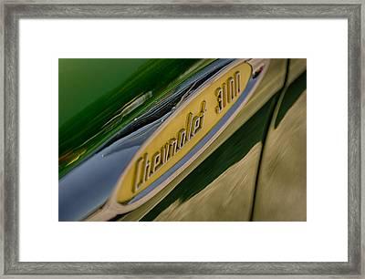 3100 Framed Print