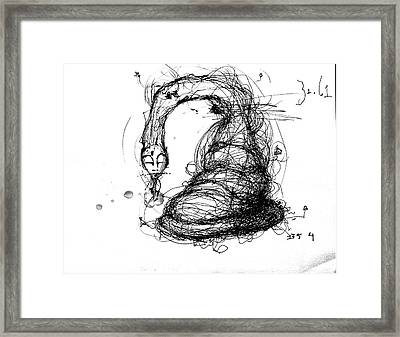 3161 Feeling Slow Framed Print