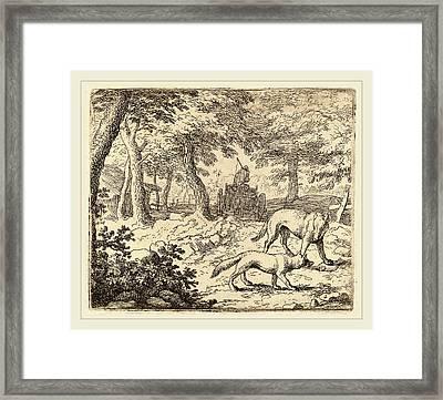 Allart Van Everdingen Dutch, 1621-1675 Framed Print by Litz Collection