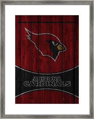 Arizona Cardinals Framed Print by Joe Hamilton