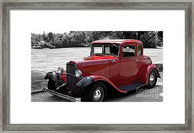 32 Ford Coupe Charmer Framed Print