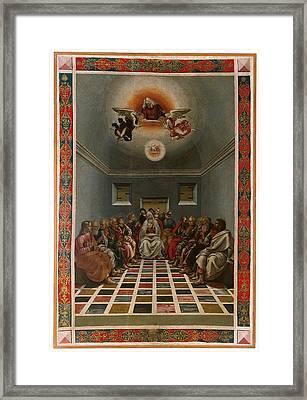 Italy, Marche, Pesaro Urbino, Urbino Framed Print by Everett