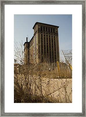Michigan Central Station Framed Print by Gary Marx