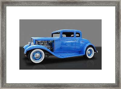1932 Pontiac Sport Coupe 5 Window Framed Print
