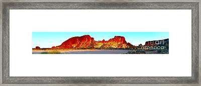 Rainbow Valley Framed Print by Bill  Robinson