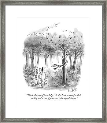 This Is The Tree Of Knowledge Framed Print