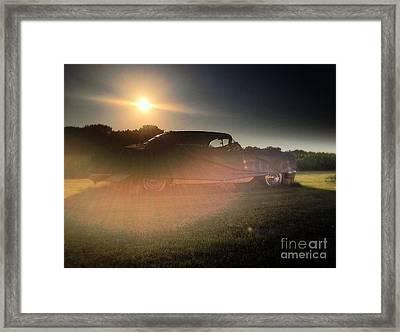 322 Olds Ghost Framed Print by Garren Zanker