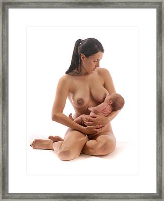 3281 Mother And Child   Framed Print