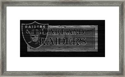 Oakland Raiders Framed Print