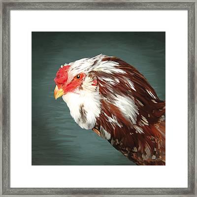 33. Orlov Head Framed Print by Sigrid Van Dort