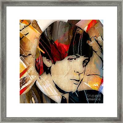 Paul Mccartney Collection Framed Print