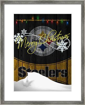 Pittsburgh Steelers Framed Print by Joe Hamilton