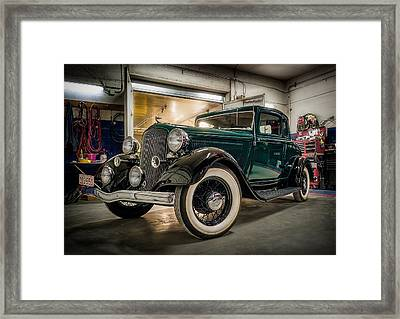 '33 Plymouth Framed Print