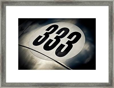 333 Framed Print by Phil 'motography' Clark