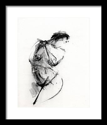 Nude Women Paintings Framed Prints