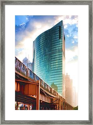 333 W Wacker Drive Framed Print by Christopher Arndt