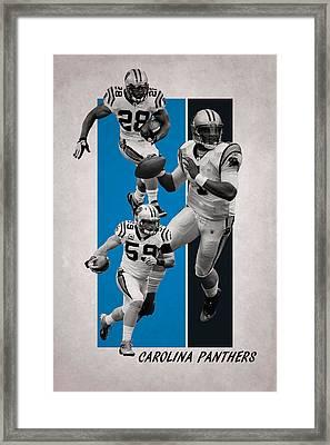 Carolina Panthers Framed Print