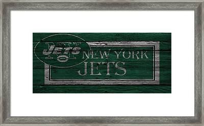 New York Jets Framed Print
