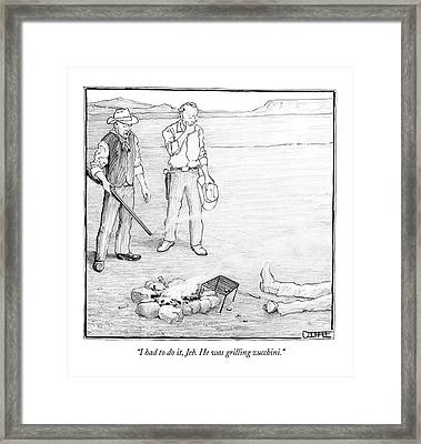 Framed Print by Matthew Diffee