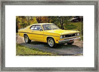340 Duster Framed Print by Thomas Schoeller