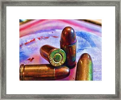 Bullet Art Color 3415 Framed Print