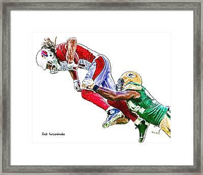 343 Framed Print by Jack K
