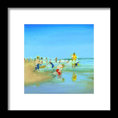Sandcastles Framed Prints