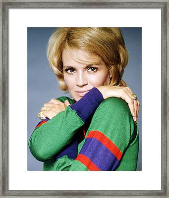 Angie Dickinson Framed Print by Silver Screen