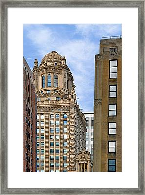 35 East Wacker - Jewelers' Building Chicago Framed Print by Christine Till