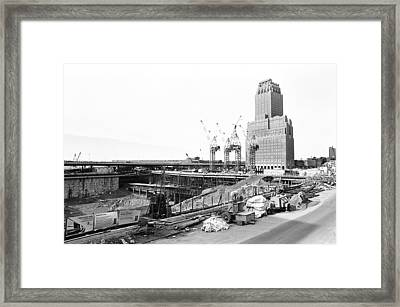 Twin Towers Framed Print
