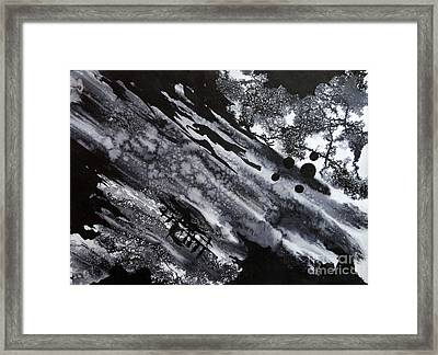 Boat Andtree Framed Print