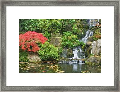 Usa, Oregon, Portland Framed Print