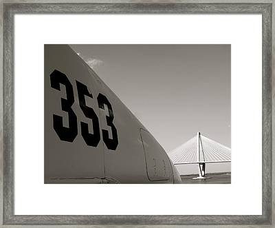Framed Print featuring the photograph 353 by Paul Foutz