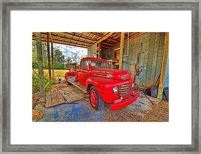 3561-7-201 Framed Print by Lewis Mann