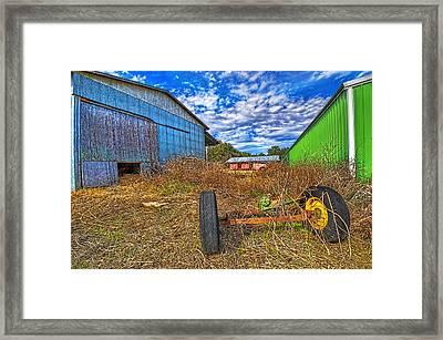 3589-95-201 Framed Print by Lewis Mann