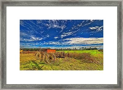 3596-602-201 Framed Print by Lewis Mann