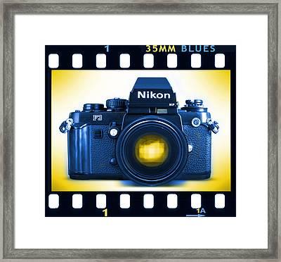 35mm Blues Nikon F-3hp Framed Print