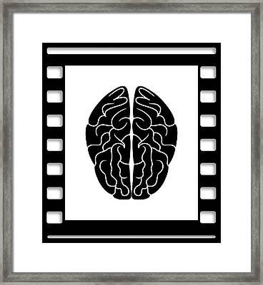 35mm Brain Framed Print by Daniel Hagerman