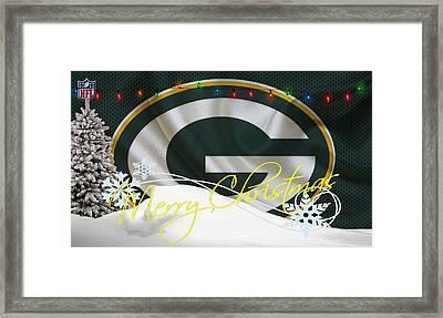 Green Bay Packers Framed Print