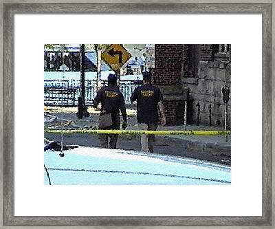 #34 Sands Of Time Framed Print