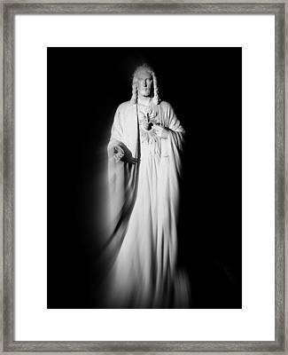 Views From Inside St Entienne Du Mont Church In Paris France Framed Print by Richard Rosenshein